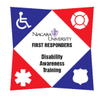 Niagra University Disability Awareness Training Logo